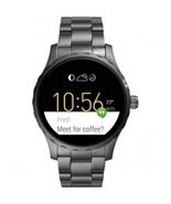 Fossil Q Gen 2 Marshal Smoke Ion-Plated Bracelet Touchscreen Smart Watch... - £325.46 GBP