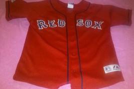 Daisuke Matsuzaka Boston Red Sox  Majestic Jersey Red MLB Youth  Sz 10-12 - $23.56