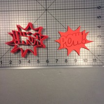 Pow! Sign 105 Cookie Cutter - $6.00+