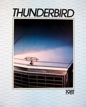 1981 Ford Thunderbird T-Bird Original Sales Brochure 81 - $14.48
