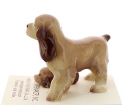 Hagen-Renaker Miniature Ceramic Dog Figurine Don Winton Cocker Papa and Pup image 2