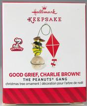 GOOD GRIEF CHARLIE BROWN 2014 Hallmark Christmas Holiday Ornament NIB Pe... - $9.50