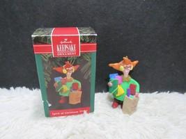 Hallmark Keepsake, Spirit Of Christmas Stress, Christmas Tree Ornament - $4.51