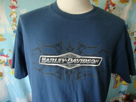Harley Davidson Of Dallas Allen Texas Motorcycle T Shirt L - $20.74