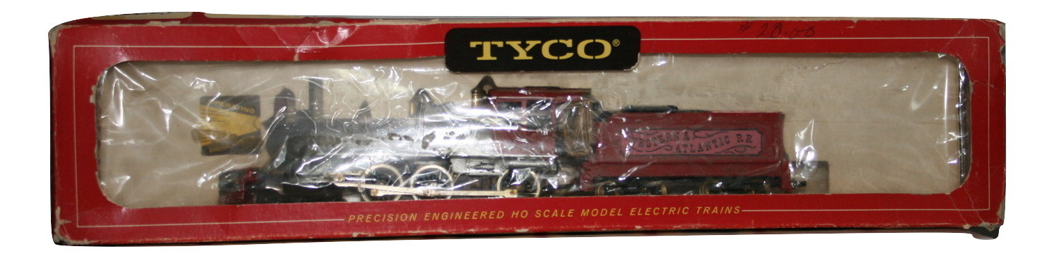 "Vintage Tyco HO ""10 Wheeler"" 4-6-0 Lighted, NIB"