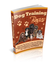 Dog Training Basics - ebook - $1.79