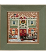 Police Station 2017 Winter Series Buttons and Beads cross stitch kit  Mi... - $12.60
