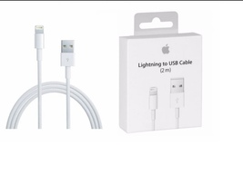 Apple USB to Lightning Cable 6 ft 2 m for iPhone and iPad - $10.99