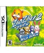 Zhu Zhu Pets 2: Wild Bunch - Nintendo DS - $2.93