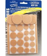 Wellson WSP-308 Self Adhesive Felt Pad Assortment with 27 Pieces - $9.79