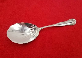 """Lancaster by Gorham Sterling Silver Berry Serving Spoon 7 3/5"""" R Mono 56 grams - $107.91"""