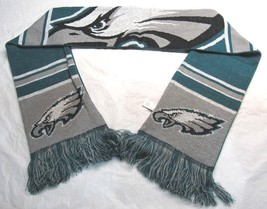 "NFL Philadelphia Eagles 2018 Reversible Cropped Big Logo Scarf 64"" by 7"" - €21,83 EUR"