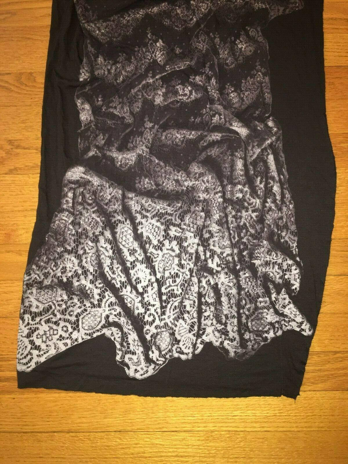 AllSaints Asymmetrical T-shirt Dress Size 8 image 10