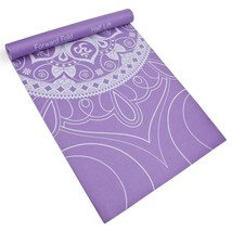 Gym Yoga Mat, Lilac 3mm Fitness Non-slip Comfortable Indoor Exercise Mat - $35.99