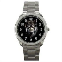 Watch wolf male wristwatch stainless steel - $21.00