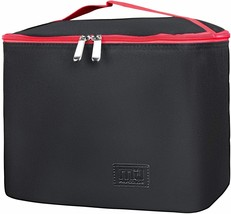 Insulated Reusable Collapsible Thermal Bento Cooler Lunch Box Large Capa... - $11.98
