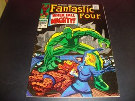 Fantastic Four #70 Marvel Comic Book From 1967 VF (7.5) Condition Stan Lee - $34.99