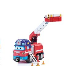Super Wings Sparky Rocky Rescue Headquarters Set Fire Engine Vehicle Truck Toy image 5
