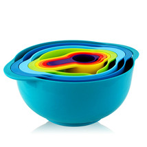 MegaChef Multipurpose Stackable Mixing Bowl and Measuring Cup Set - £29.71 GBP
