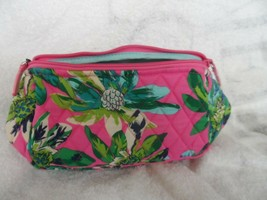 Vera Bradley Travel cosmetic in Tropical Paradise - $25.00