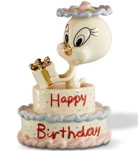 Lenox Tweety Bird Birthday Cake Looney Tunes Figurine #846707 New In Box - $73.90