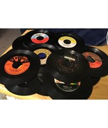 16 45rpm Records Hits From 50s 60s - $14.01