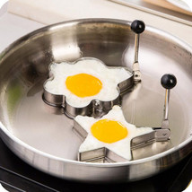 4Pcs Mix Creative More Style Thick Stainless Steel Omelette - $23.79 CAD