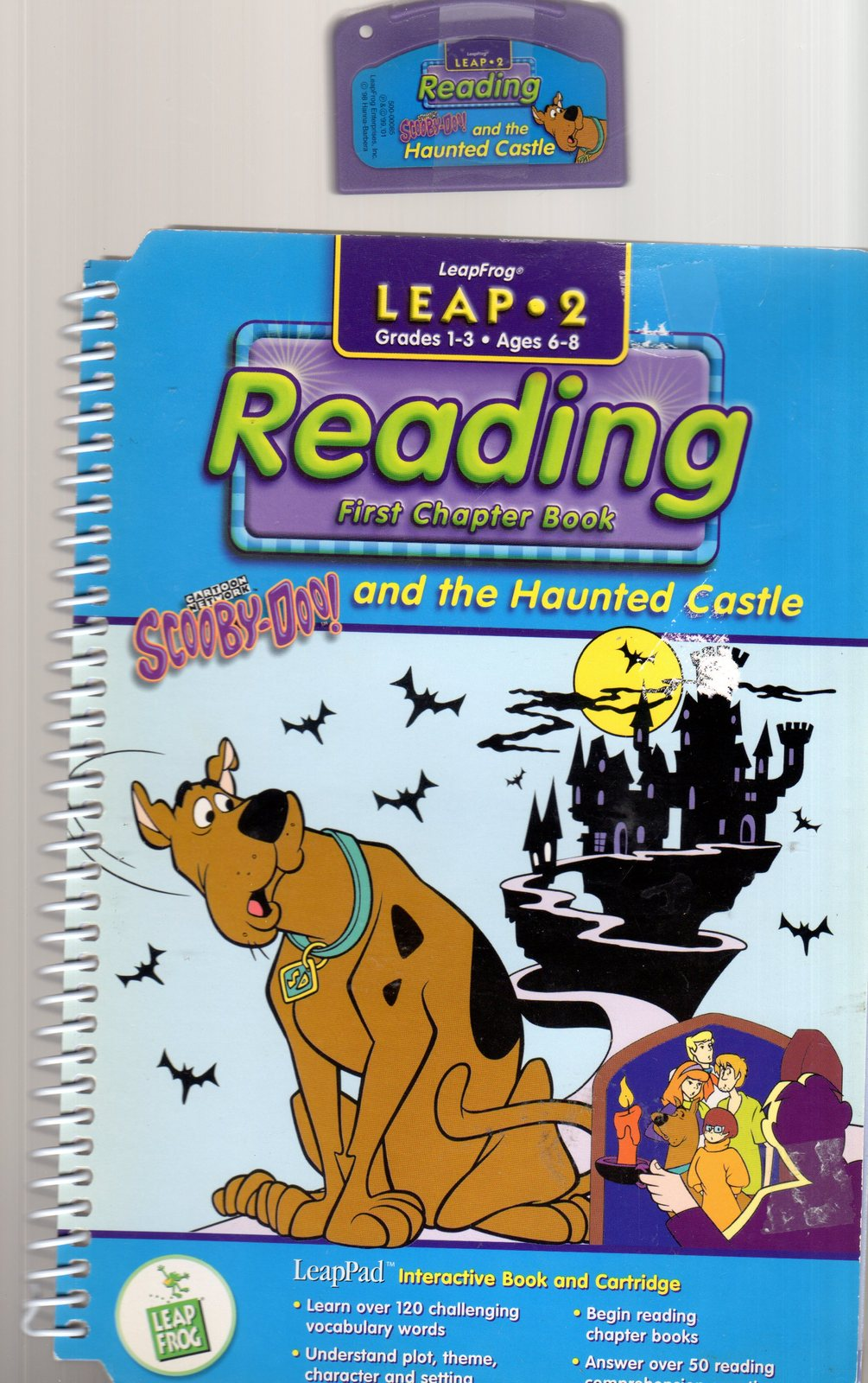LeapFrog  Leap 2- Reading - Scooby - Doo! and The Haunted Castle