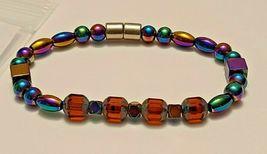 Magnetic Hematite Bracelet 7 inch  Single Strand  (MAG-004) image 4