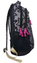 """Brand New Cat & Jack  18"""" Kids' Backpack - Black/Grey Star image 3"""