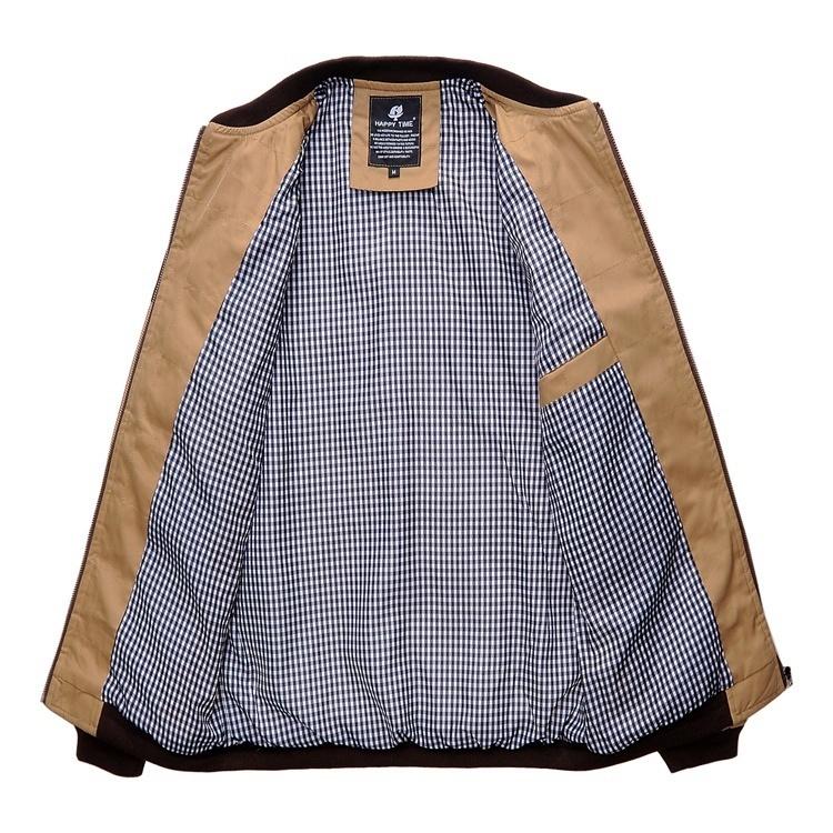 Men's thick warm coat image 4