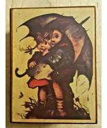 Vintage Hummel Wood Music Box, Hummel-Like Figurine, 1972 Annual Plate, ... - $50.00