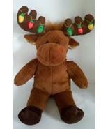 Build-a-Bear Reindeer w/ Blinking Christmas Lights Plush Stuffed Doll To... - $4.89