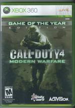 Call of Duty 4: Modern Warfare- GOTYE (Microsoft Xbox 360, 2007)  - $11.26