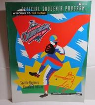 1995 Cleveland Indians MLB Playoffs League Championship Series Program - $4.17