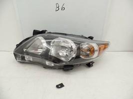 Oem Head Light Headlight Lamp Toyota Corolla 09 10 Lh Black Chip mount-have Pc - $49.50