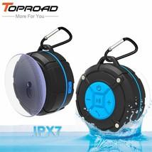 TOPROAD® Waterproof Outdoor Bluetooth Speaker Portable Wireless Loudspeaker - $17.92