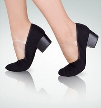 "Angelo Luzio 304A Adult Size 8M Black 5/8"" Heel Character Shoe - $19.99"