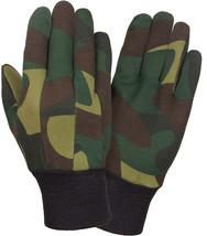 Camouflage Sportsmans Jersey Non-Slip Work Gloves - $137,64 MXN