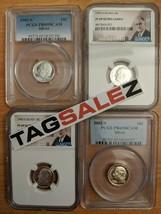 ✯ ESTATE SALE! ✯ SILVER DIMES GRADED U.S Proof Coin Hoard ✯ 1 SLAB LOT +... - $19.99