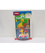 VINTAGE SEALED 1987 Playskool Sesame Street Big Bird's Popcorn Machine - $18.51