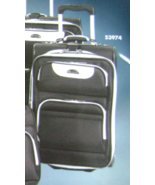"""DELSEY AIR TUXEDO EXPANDABLE LUGGAGE SET/2 WHEELED 21""""CARRY-ON & TOTE BL... - $149.90"""
