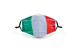 Mexican Flag Colors Face Mask Washable Reusable POLYESTER/COTTON +2 filters - $13.99