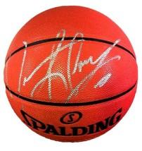 Dennis Rodman Autographed Spalding Basketball JSA Authenticated - £67.32 GBP