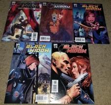 Marvel Comics Black Widow 1 2 4 5 6 Limited Series book Avengers No 3 MK... - $1.99
