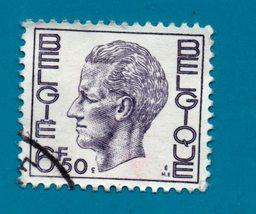 Used Beligum  Postage Stamp 1974 King Baudouin 6.50f - New Values  Scott... - $1.99