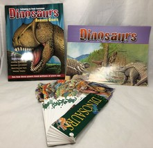 Dinosaurs Fandex Family Field Guides Jane Hammerslough with MAGAZINE AND... - $15.83