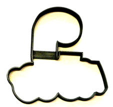 Number Nine 9 Outline Fancy Word Birthday Anniversary Cookie Cutter USA ... - $1.99