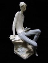 "Lladro Hebrew Student #4684, 11.5"" Tall, Mint Condition - $213.77"