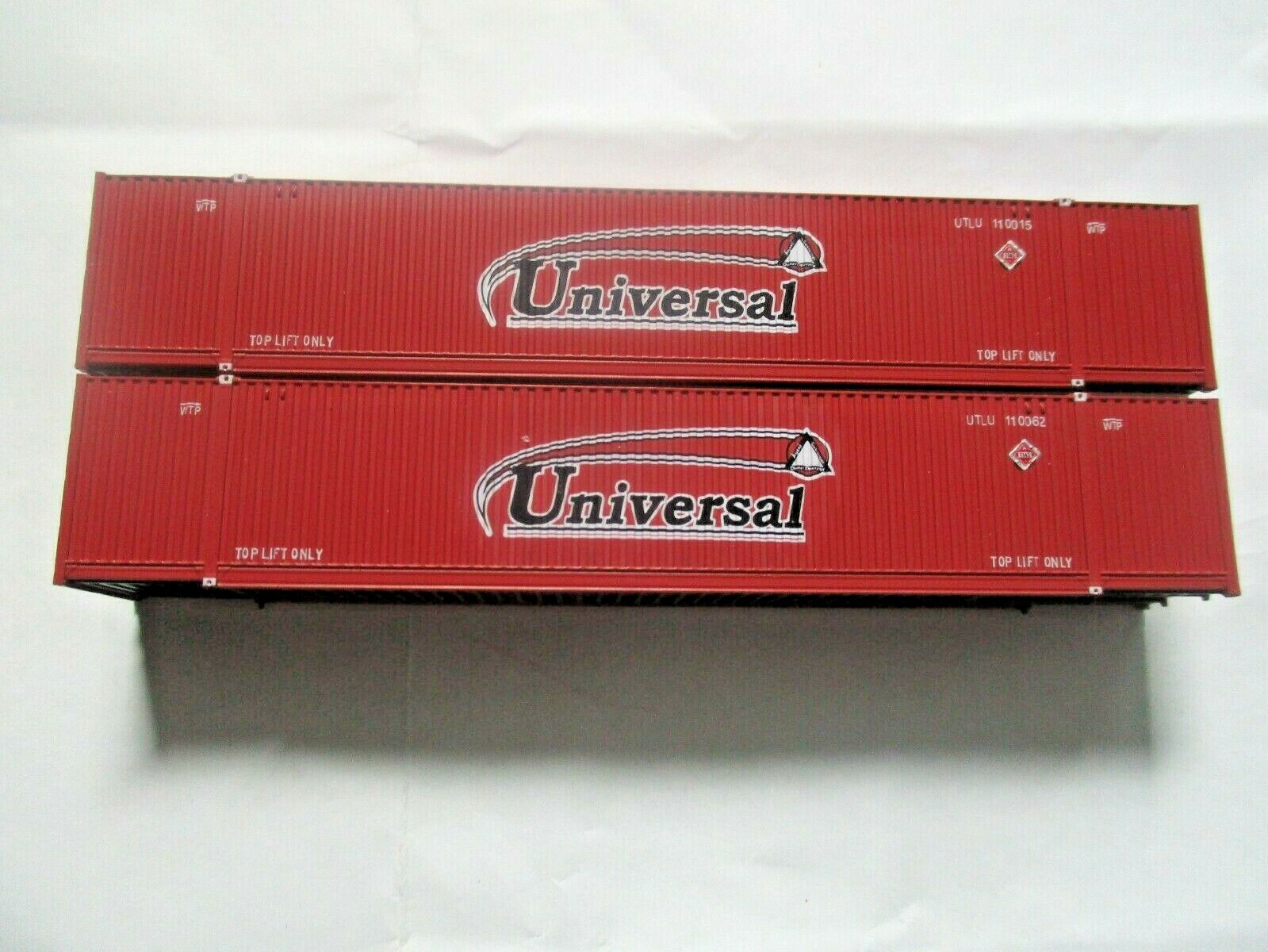 Jacksonville Terminal Company # 537014 Universal  53' 8-55-8  Container N-Scale